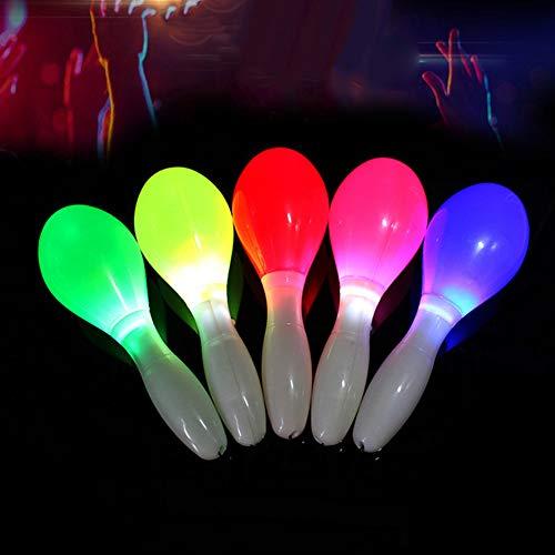 Move on Concert Favor Toy,LED Flashing Maraca Lanyard