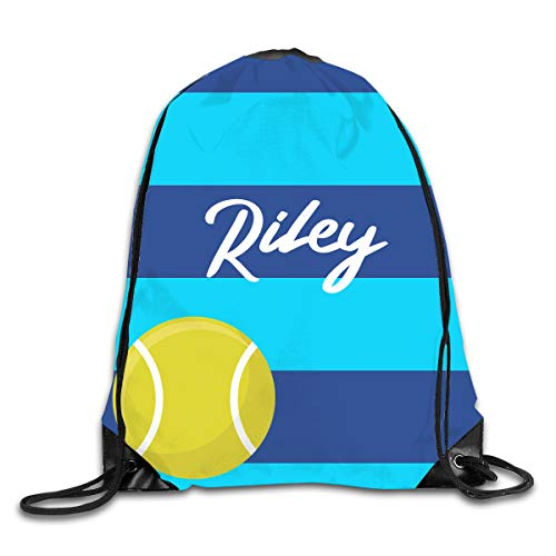 (Personalized Drawstring Backpack Bag Custom Kids Sackpack Sport Gym Cinch Bag)