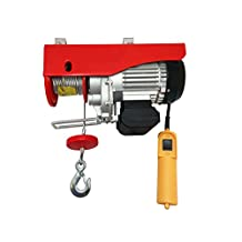 Electric Hoist 120V/60HZ, Lifting Weight: 880lbs (400kg)