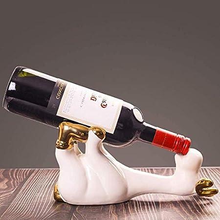 Estante De Vino Estante De Botellas Estante De Vino Estante De Almacenamiento Exhibición De Estante De Vino De Cerámica Gabinete De Vino Joyería Artesanal Decoración Del Hogar Regalo Vinotecas