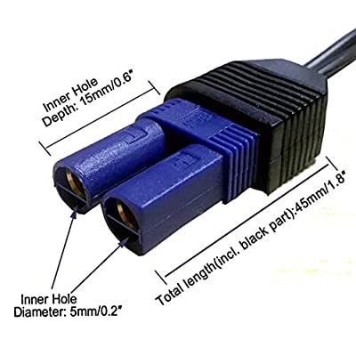 XINCOL EC-5 DC Cigarette Lighter Socket Cable for 12v Car Battery Booster Mini Portable Power Pack car jump starter: Automotive