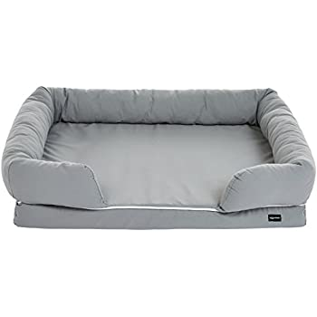 Image of AmazonBasics Pet Sofa Lounger Bed Pad For Cats or Dogs Pet Supplies