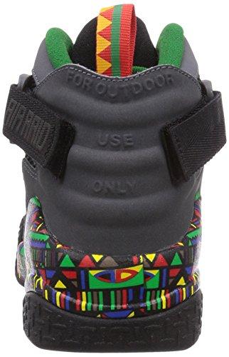 Nike  Air Raid - Zapatillas de running para Hombre Multicolore (Mehrfarbig (Black/Dark Grey-Pine Green))