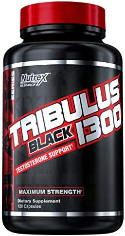 Tribulus Terrestris for Men by Nutrex Research | 1300 mg per Serving | 120 Count