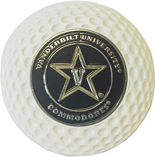 Vanderbilt Commodores ゴルフボールマーカー アクリル製 ゴルフ ポーカー チップドール バンディ   B07JLSC4QF