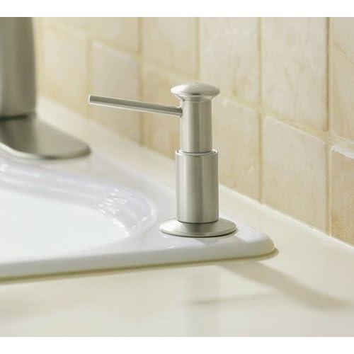 KOHLER K-9619-96 Soap or Lotion Dispenser, Biscuit durable modeling
