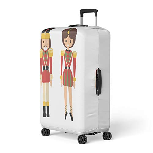 Nutcracker Ballet Character Costumes - Pinbeam Luggage Cover Retro Xmas As