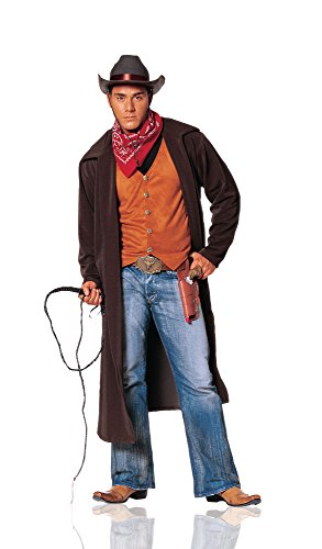 Costume Culture Men's Gunslinger Costume Extra Large, Brown, X-Large