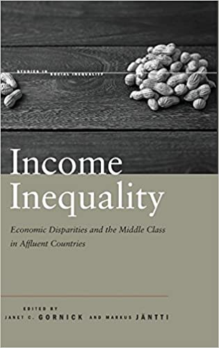 Book Income Inequality: Economic Disparities and the Middle Class in Affluent Countries (Studies in Social Inequality)