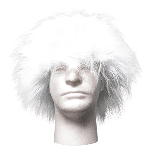 Sports Novelties Wig, White -