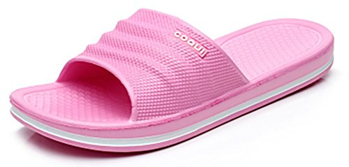 Shower pink Bathroom slip Slippers Beach Sole Shoes Adult Sandals Foams for Slide Mule Non On Pool Think House Slip xRqUIn
