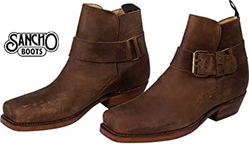Sancho Boots Sancho Boots Herren Damen Stiefelette Crazy Rustik Saddale  Größe 39 1a7f356964