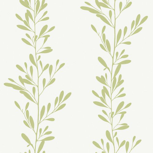 (Decorate By Color BC1582013 Green Modern Leaf Stripe Wallpaper )