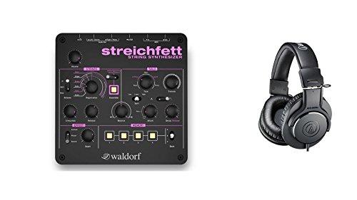 Waldorf Streichfett w/ Audio-Technica ATH-M20x Headphones Bundle