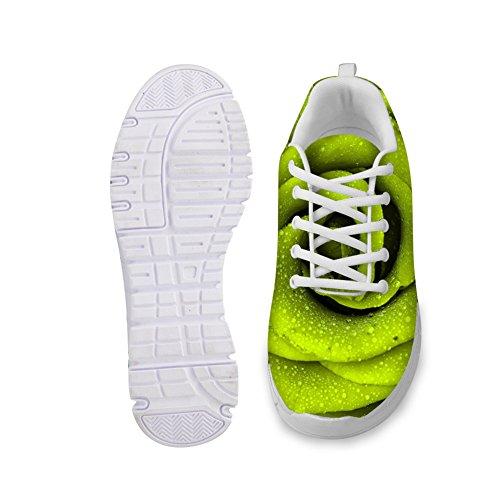 Abrigo Idea Zapatillas De Deporte Para Mujer De Moda Florales Zapatillas De Running Ligeras Floral4