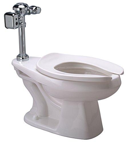 Zurn Z5655.272.00.00.00 1.28 gpf Floor Mount Elongated Toilet SystemTop Spud Diaphragm Hardwired Integral Sensor Valve