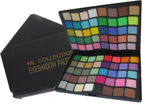ML Collection 3D LOOK Professional Makeup Kit, 80 Color. FREE 5 Piece Mini Goat Brush Set.