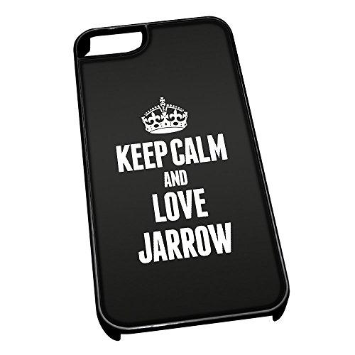 Nero cover per iPhone 5/5S 0360nero Keep Calm and Love Jarrow
