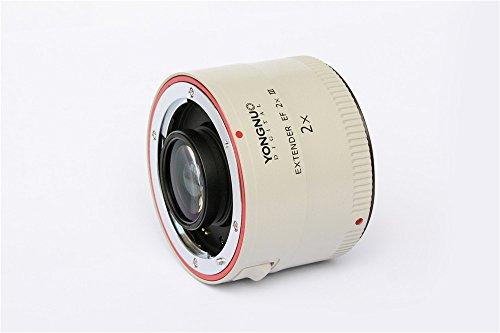 YONGNUO YN2.0X III Teleconverter Extender Auto Focus Lens for Canon EOS EF Lens (Yongnuo Extender Ef 1-4 X Iii Teleconverter)