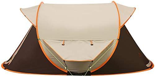 Pop Up Carpa de Playa Protección UV Refugio automático para el Sol 3-4 Personas al Aire Libre Refugio para el Sol para Pescar Camping Jardín al Aire Libre