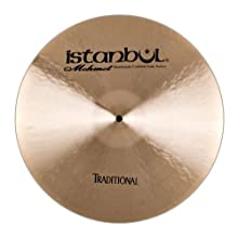 Istanbul Mehmet Cymbals Traditional Series CTH19 19-Inch Thin Crash Cymbals
