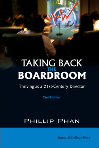Taking Back the Boardroom: Thriving As a 21st-century Director