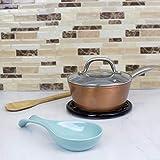 Home Basics Ceramic Spoon Rest