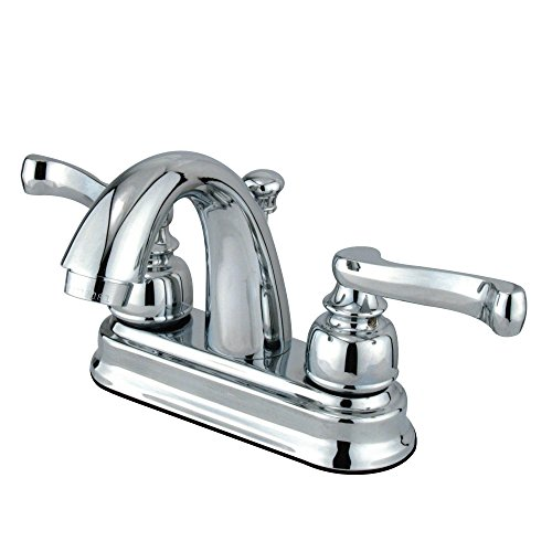 Elements of Design EB5611FL Centerset Lavatory Faucet With High Rise Spout, 4