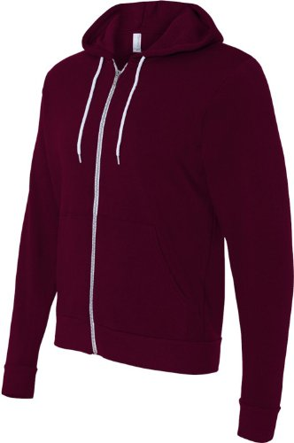 Canvas unisex Poly Cotton Fleece Full Zip product image