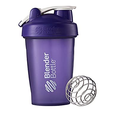 BlenderBottle Classic Loop Top Shaker Bottle, Purple, 20 Ounce