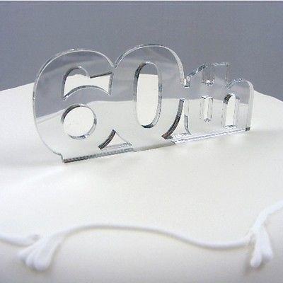 ServeWell 60th Birthday Cake Topper