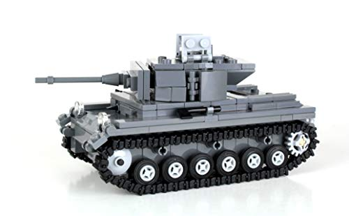 German WW2 Panzer Tank - Battle Brick Custom Set