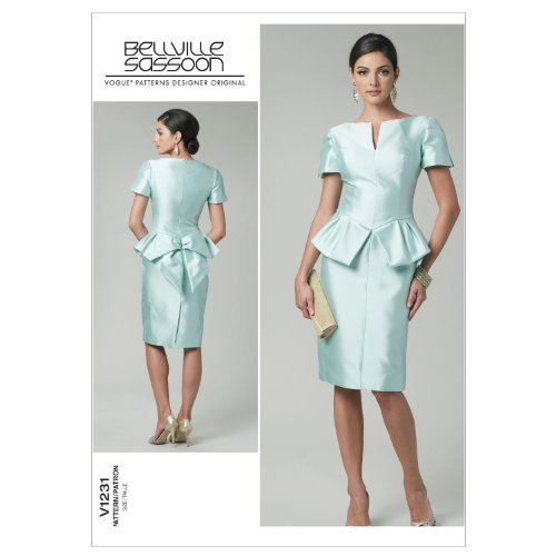 SEWING FF PATTERN 16 Dress 18 Misses' 20 22 F5ngYzxwqx