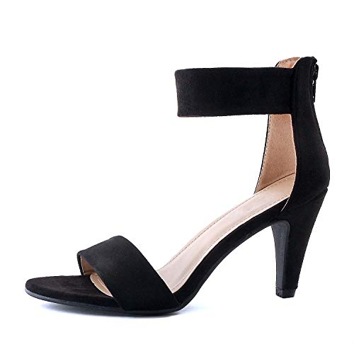 Guilty Shoes - Elysa-1 Black Suede, 9