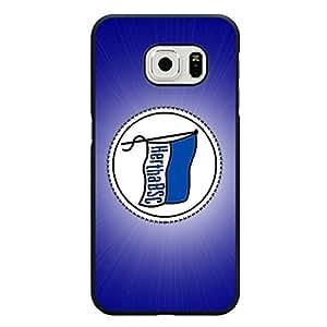 Original Custom Hertha Berliner Sport Club Berlin Phone Case for Samsung Galaxy S6 Edge Hertha BSC Team Logo