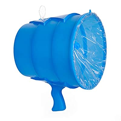 Airzooka Air Blaster- Blows 'Em Away - Air Toy for Adults and Children Ages 6 and Older - Blue: Toys & Games