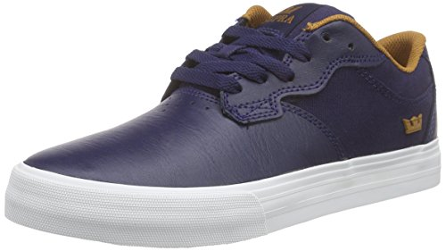 Supra Axle, Unisex Adults' Low-Top Sneakers Blue (Navy / Cathay Spice - White Nvy)