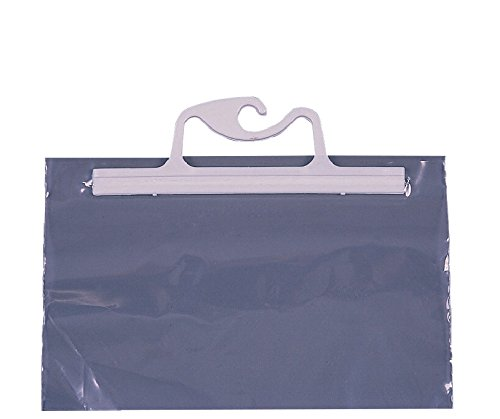 Monaco Hangup Portable Original Bag, 20 x 25 in, 4 mil Polyethylene, Clear, Pack of 10 by Monaco