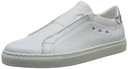 Blanco White Carla D'oro bright On Donne Mujer Low Pantofola 1fg Para Zapatillas Slip FPzxvwvd5q