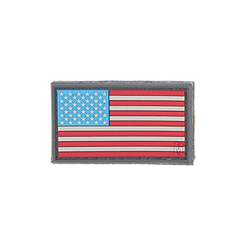 Maxpedition Gear USA Flag Small Patch, Full Color, 2 x 1-Inc