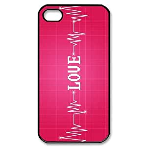 HEALTH love Pink Phone Case For Iphone 4/4s [Pattern-1]