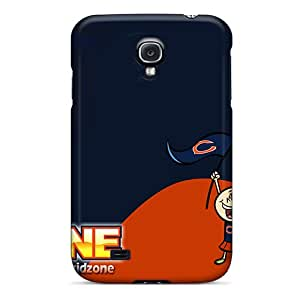 Samsung Galaxy S4 DBV18650YmGw Support Personal Customs Trendy Chicago Bears Pattern Scratch Protection Cell-phone Hard Cover -MansourMurray