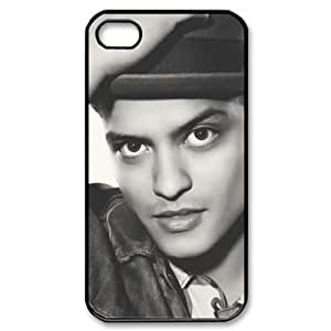 J-LV-F Customized Print Bruno Mars Pattern Back Case for iPhone 4/4S