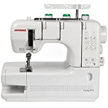 Janome 900CPX CoverPro 1 or 2 Needle, 2 & 3 Thread Coverstitch / Cover Hem Machine, Easy Threading. Features Light Weight Cast Aluminum Body. Includes Free cover Bonus Gift