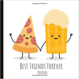 Best Friends Forever Journal A Beautiful Friend Notebook That Makes Gift For Your BFF Heather Honey Designs 9781730800023 Amazon