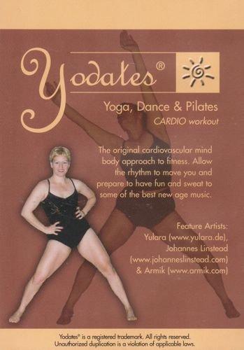 Yodates Yoga Dance & Pilates DVD - Brandi Woodard
