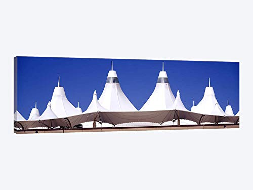 Roof of a Terminal Building at an airportDenver International Airport Denver Colorado USA - Canvas Wall Art Gallery Wrapped 36