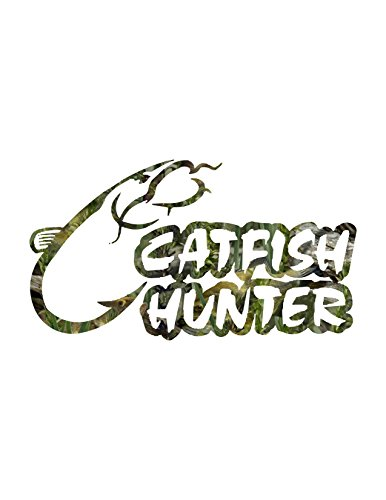 Catfish Decal - Catfish Hunter Fishouflage / Large Size