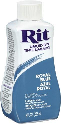 Rit Dye Liquid Fabric Dye, 8-Ounce, Royal Blue by Rit Dye by Rit Dye