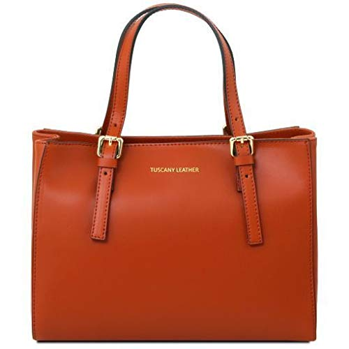 Tuscany Leather Aura Leather handbag Brandy